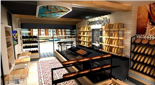 Adeko ile Mağaza Cafe, Fırın, Eczane 3D tasarlayabilir müşterinizi ikna edersiniz.