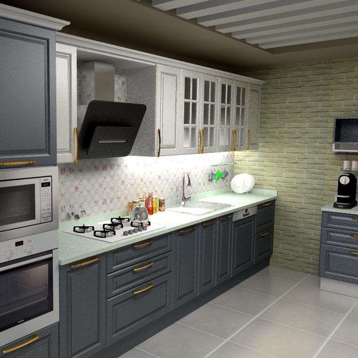 Adeko 17 ile Mutfak dolabı çizebilirsiniz.